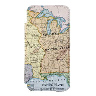 Map: US Expansion, 1905 iPhone SE/5/5s Wallet Case
