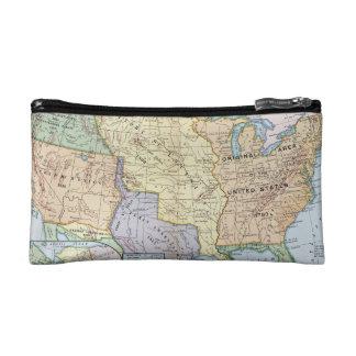 Map: US Expansion, 1905 Makeup Bag