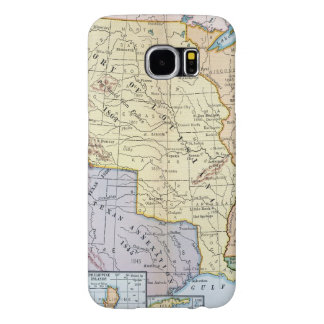 Map: US Expansion, 1905 Samsung Galaxy S6 Case