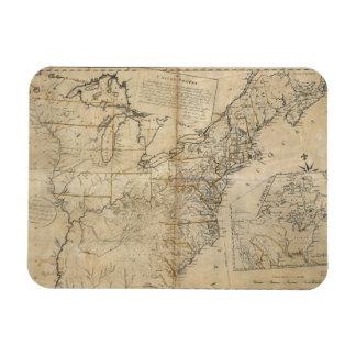 MAP: USA, 1783 MAGNET
