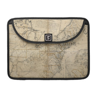 MAP: USA, 1783 SLEEVE FOR MacBook PRO