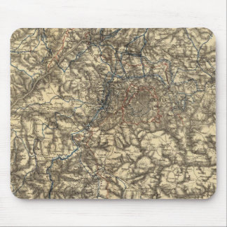 Map V illustrating the Military Operations Mouse Pad