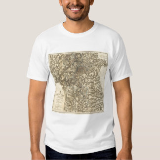 Map V illustrating the Military Operations T Shirt
