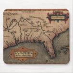 Mapa 1584 de la Florida del La Mousepad