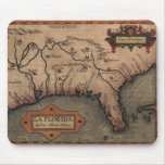 Mapa 1584 de la Florida del La Mousepad Tapete De Raton