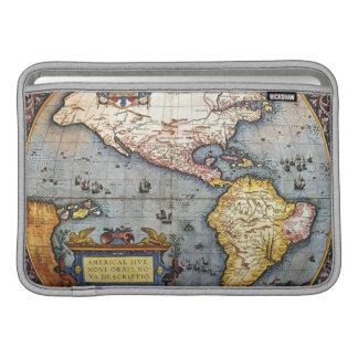 Mapa 1587 de las Américas Funda Macbook Air