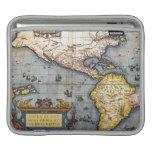 Mapa 1587 de las Américas Funda Para iPads