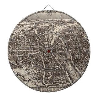 Mapa 1618 de París de Claes Jansz. Visscher