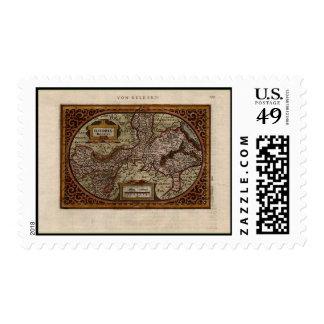 Mapa 1631 Geldria Ducatus de Mercator-Hondius