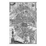 Mapa 1643 de París Papeleria De Diseño