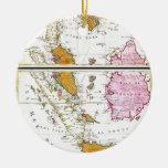 Mapa 1710 de Ottens de Asia sudoriental Singapur t Ornamento Para Reyes Magos