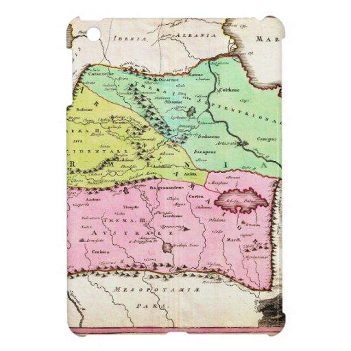 Mapa 1720 de Weigel de los comités incluyendo Arme iPad Mini Cárcasa