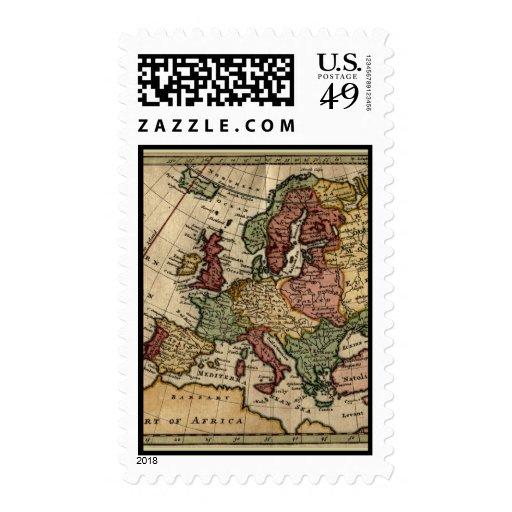 Mapa 1721 de Europa Envio