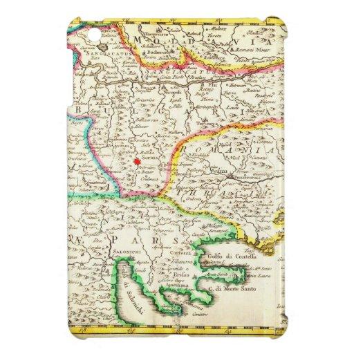 Mapa 1738 de Ratelband de los Balcanes Bosnia Serb iPad Mini Cobertura