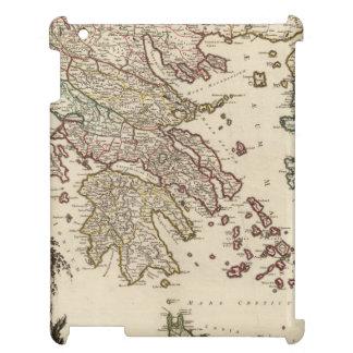 Mapa 1752 de Grecia antigua