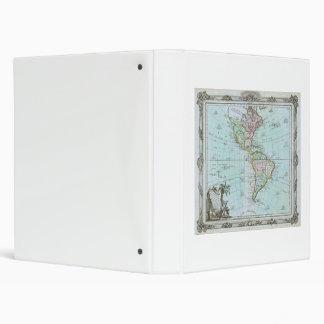 """Mapa 1764 de las Américas de Louis Brión de la Carpeta 1"""""""