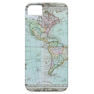 Mapa 1764 de las Américas de Louis Brión de la iPhone 5 Carcasas