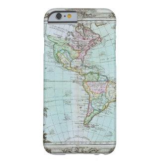 Mapa 1764 de las Américas de Louis Brión de la Funda De iPhone 6 Barely There
