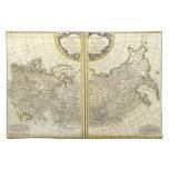Mapa 1771 de Rigobert Bonne de Rusia Manteles