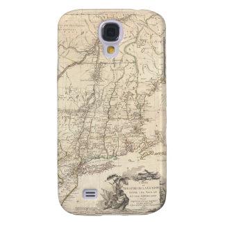 Mapa 1777 de Nueva Inglaterra Funda Para Galaxy S4