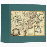 Mapa 1778 de Canadá y de los Estados Unidos