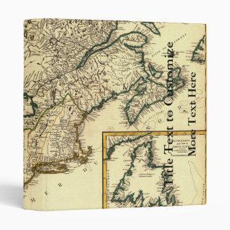 """Mapa 1778 de Canadá y de los Estados Unidos Carpeta 1"""""""