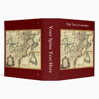 """Mapa 1778 de Canadá y de los Estados Unidos Carpeta 2"""""""