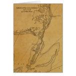 Mapa 1779 de Chatham, Massachusetts Tarjeta De Felicitación