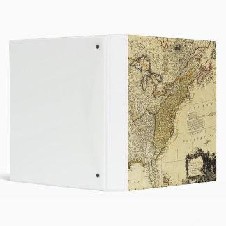 """Mapa 1784 de los Estados Unidos de América por Carpeta 1"""""""
