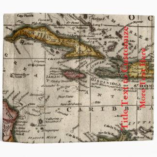 """Mapa 1790 de las Antillas del fenómeno y de Robins Carpeta 2"""""""