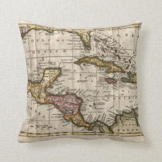 Mapa 1790 de las Antillas del fenómeno y de Robins Cojin