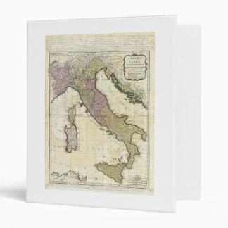 Mapa 1794 de D'Anville Italia del Bourguignon de J