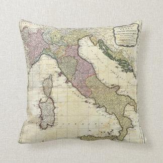 Mapa 1794 de D'Anville Italia del Bourguignon de J Cojin
