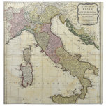Mapa 1794 de D'Anville Italia del Bourguignon de J Servilleta