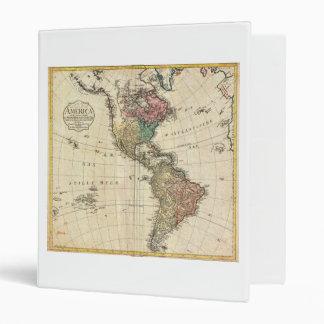 Mapa 1796 de Mannert del norte y de Suramérica
