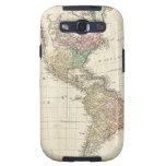 Mapa 1796 de Mannert del norte y de Suramérica Samsung Galaxy S3 Cárcasa