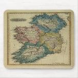 Mapa 1823 de Irlanda por el JR que coloca de Lucas Tapetes De Ratón