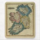 Mapa 1823 de Irlanda por el JR que coloca de Lucas Alfombrilla De Ratón