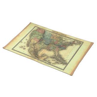 Mapa 1848 de Thunot Duvotenay:  Etats-Unis y Manteles