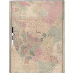 Mapa 1872 - New York City de Brooklyn del vintage, Pizarras Blancas