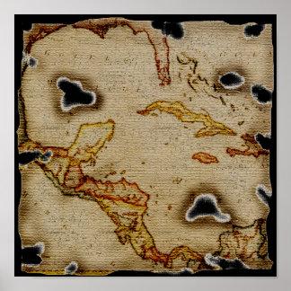Mapa #1 de EpicTreasure Póster