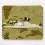Mapa #1 del pirata tapete de raton