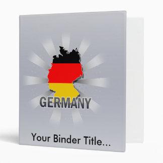 Mapa 2,0 de la bandera de Alemania