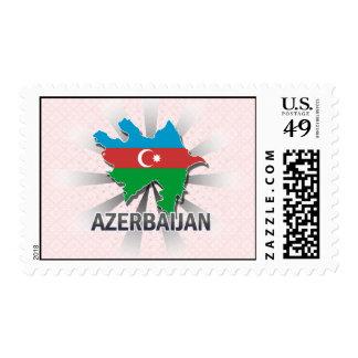 Mapa 2,0 de la bandera de Azerbaijan Envio