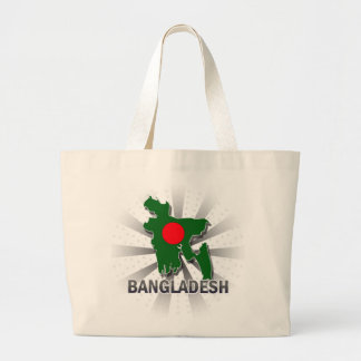 Mapa 2,0 de la bandera de Bangladesh Bolsas