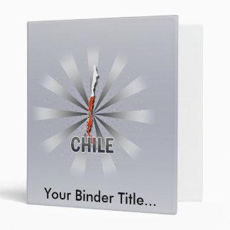 Mapa 2,0 de la bandera de Chile