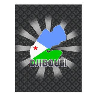 Mapa 2 0 de la bandera de Djibouti Postal