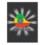 Mapa 2,0 de la bandera de Etiopía Postal