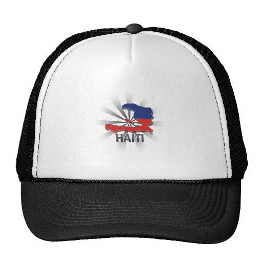 Mapa 2,0 de la bandera de Haití Gorras