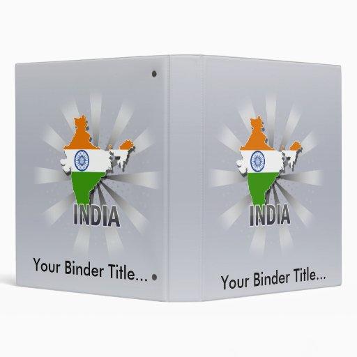 """Mapa 2,0 de la bandera de la India Carpeta 1"""""""
